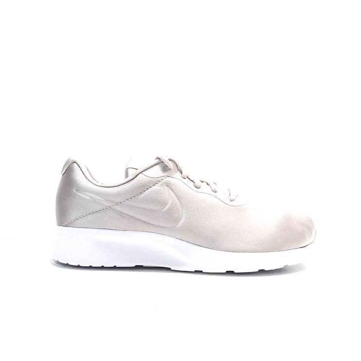 sneakers de cordones en raso de color rosa,marca nike