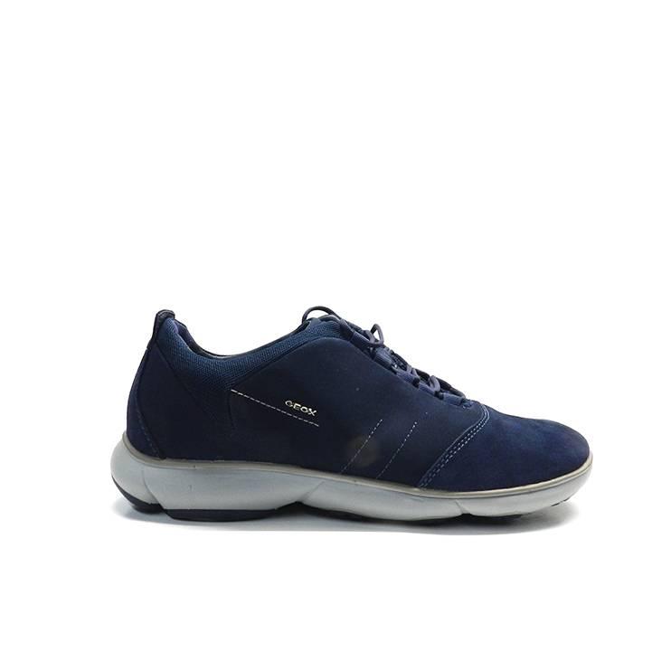 zapatos cordones suela bloc y pespuntes de la marca Geox.