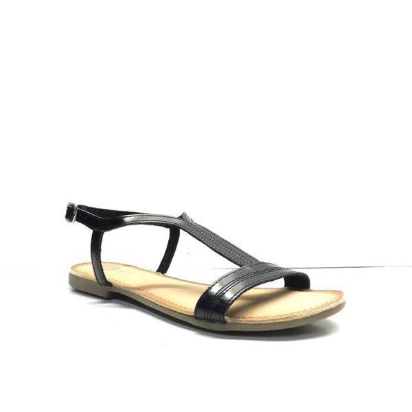 sandalias de napa con tiras y cogida con hebilla de la marca gioseppo.
