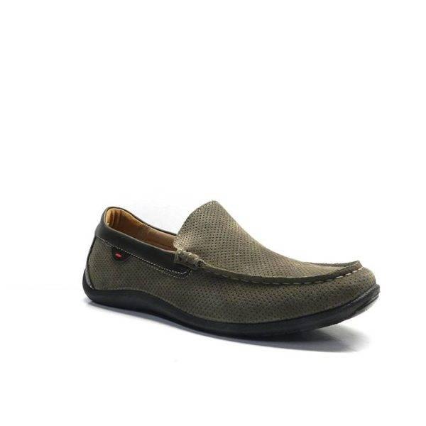 Zapatos tipo mocasin en color marron ,marca imac