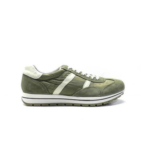sneakers de nylon en color kaki,marca imac