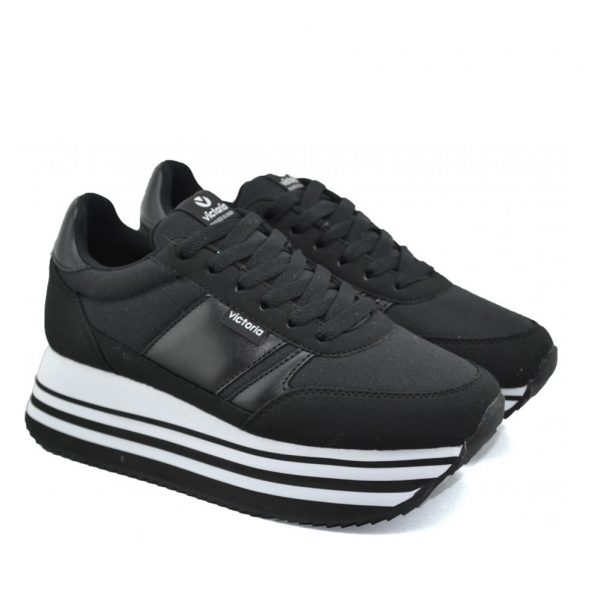 Sneakers-VICTORIA 142900 Negro