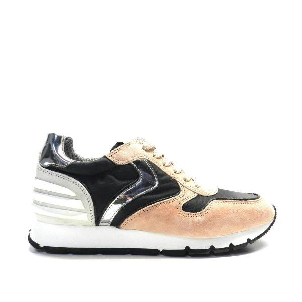 Sneakers VOILE BLANCHE JULIA POWER ROSA/NERO/PANNA