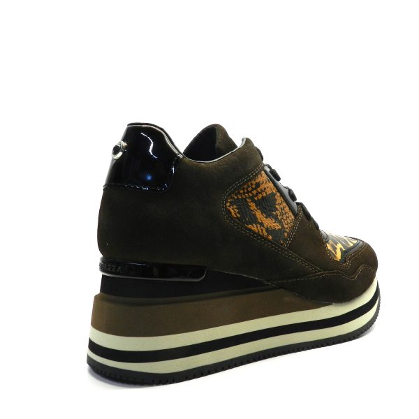 Sneakers APEPAZZA HILARY BROWN