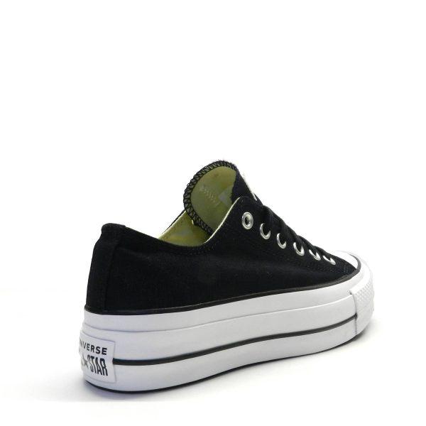 Sneakers CONVERSE CHUCK TAYLOR ALLSTAR PLATAFORMA LONA NEGRO