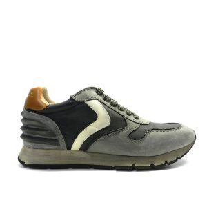 Sneakers VOILE BLANCHE LIAM POWER GRIGIO/NERO