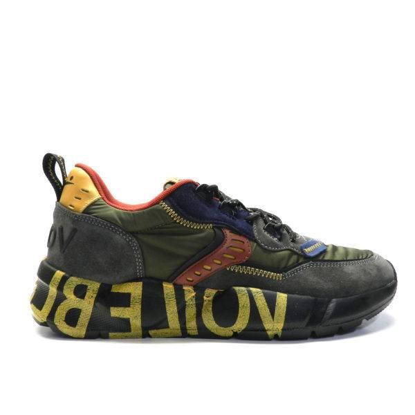 Sneakers VOILE BLANCHE CLUB 01 MILITARE