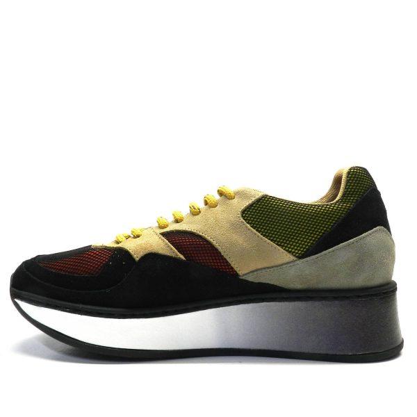 sneakers- POPA SAJANA (ANTOFALLA) NEGRO/ROJO