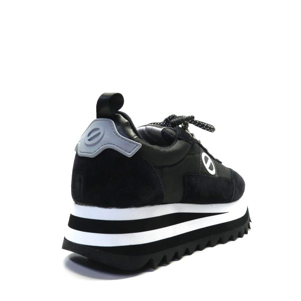 Sneakers NO NAME FLEX M RIPPLE BLACK/GREY