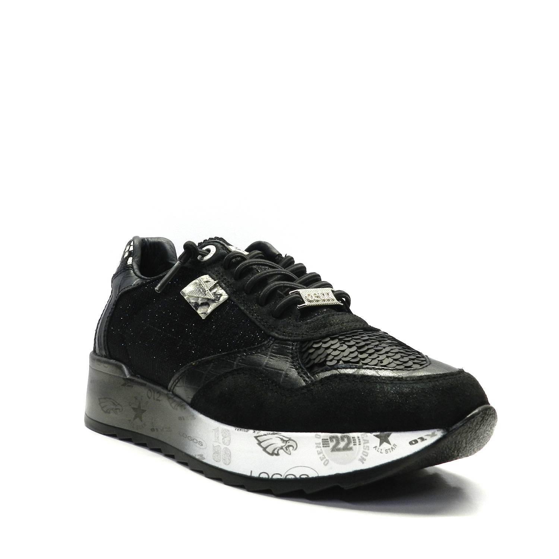 Sneakers - CETTI C-848 NEGRO