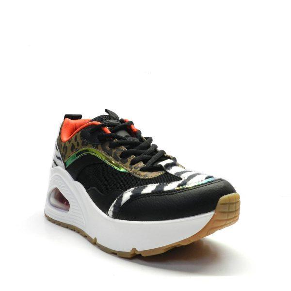 Sneakers SKECHERS 155007 BLACK MULTI