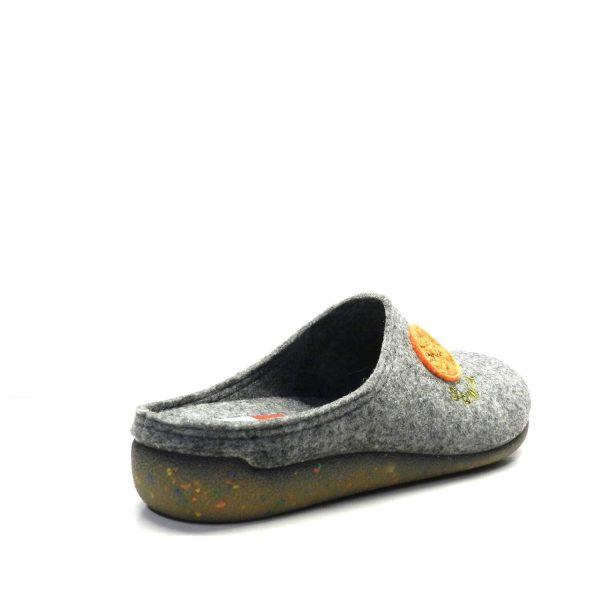 Zapatillas casa - Chancla Fieltro Gris