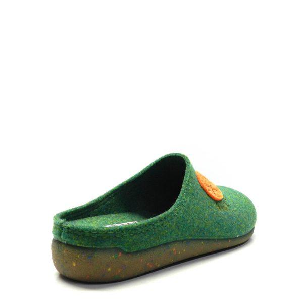 Zapatillas casa - Chancla Fieltro Verde