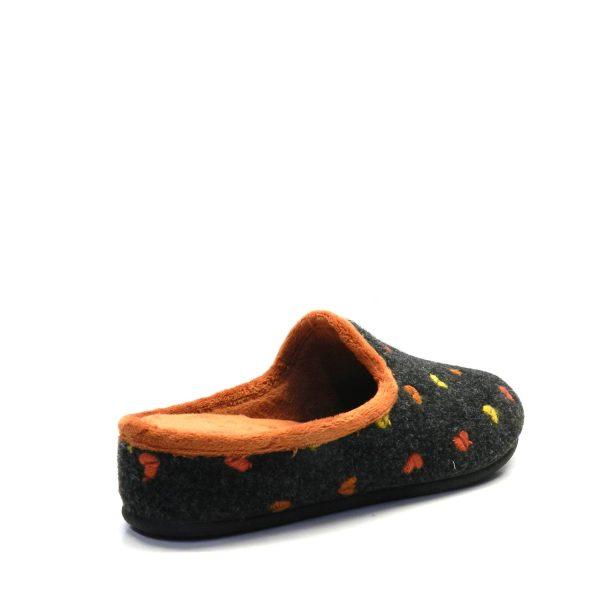 Zapatillas casa - Lana corazones