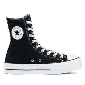 Sneaker Converse Extra High Platform Chuck Taylor All Star High Top Negro